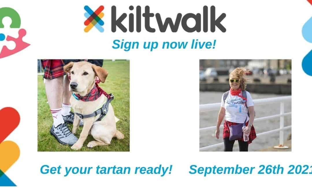 Scotland's Kiltwalk!