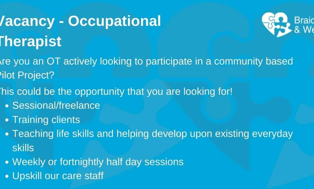 Vacancy- Occupational Therapist